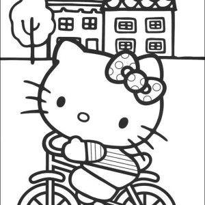 Kleurplaat Hello Kitty http://fora.nl/boards/hello-kitty