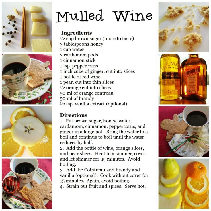 17 best images about recipe cards on pinterest make your own vegetable recipes and martinis - Make perfect mulled wine ...
