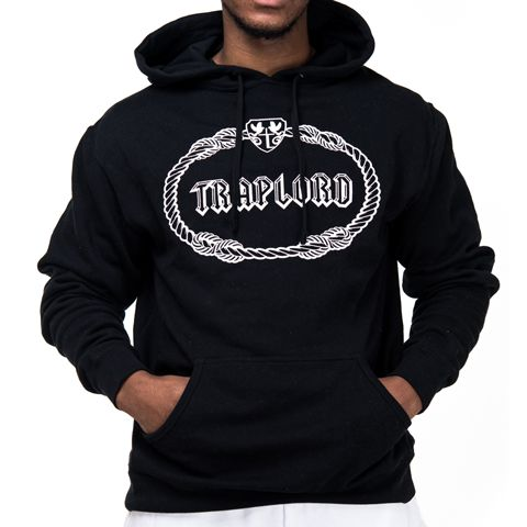 Black Classic Traplord Hoodie | ASAP Ferg | Trap Lord