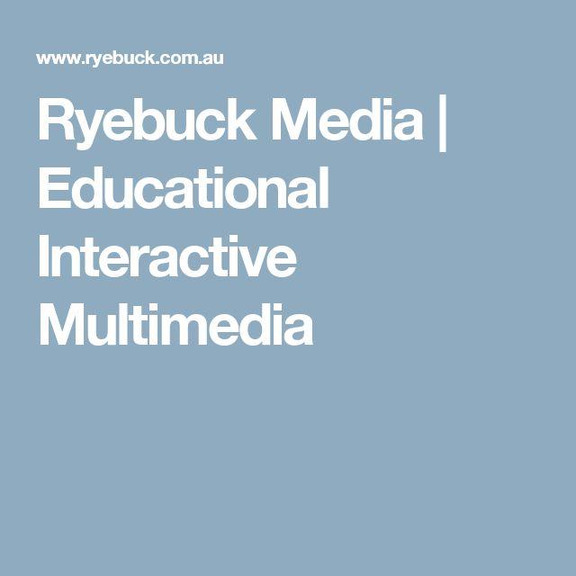 Ryebuck Media   Educational Interactive Multimedia