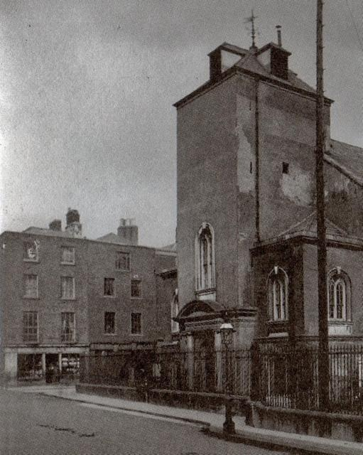 St Mary's Church, Mary Street. My 3x great grandparents were married here in 1846. It is now a bar and restaurant.