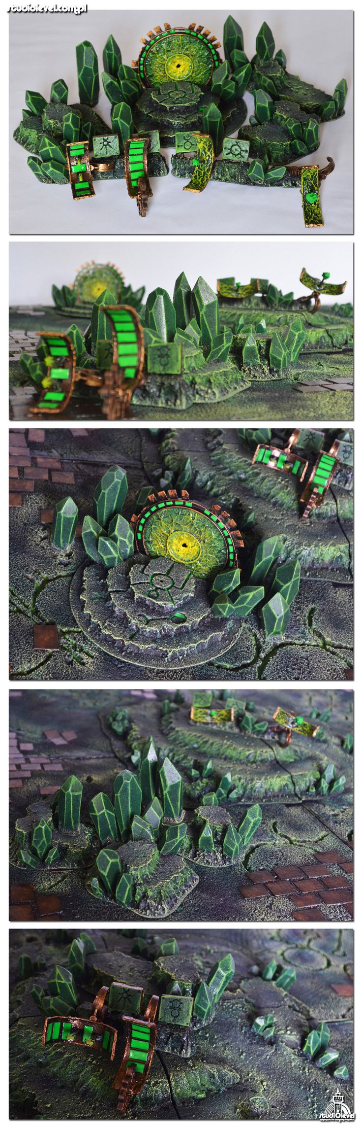 NECROPLANET MULTIPLE SYSTEM SET miniatures minis | NOT OUR ART - Please click artwork for source | WRITING INSPIRATION for Dungeons and Dragons DND Pathfinder PFRPG Warhammer 40k Star Wars Shadowrun Call of Cthulhu and other d20 roleplaying fantasy science fiction sci-fi horror location equipment monster character game design | Create your own RPG Books w/ www.rpgbard.com