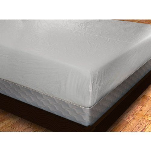 Vinyl Fitted Mattress Cover 6 Gauge Full By Shop Bedding 13 75 Wipes Clean With A Damp Cloth Machine Mattress Covers Waterproof Mattress Cover Mattress