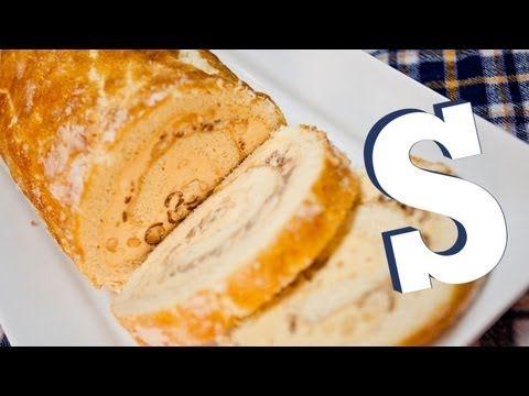 Peanut Butter Arctic Roll Recipe