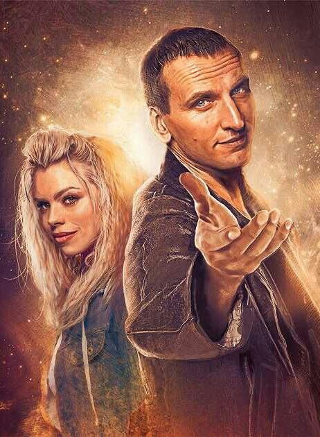 DOCTOR 9 AND ROSE TYLER
