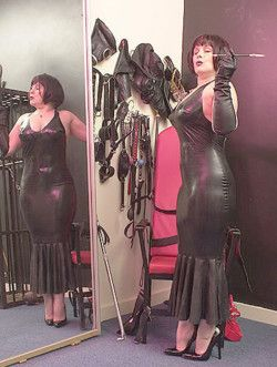 Madam is fully prepared to administer a punishment ...