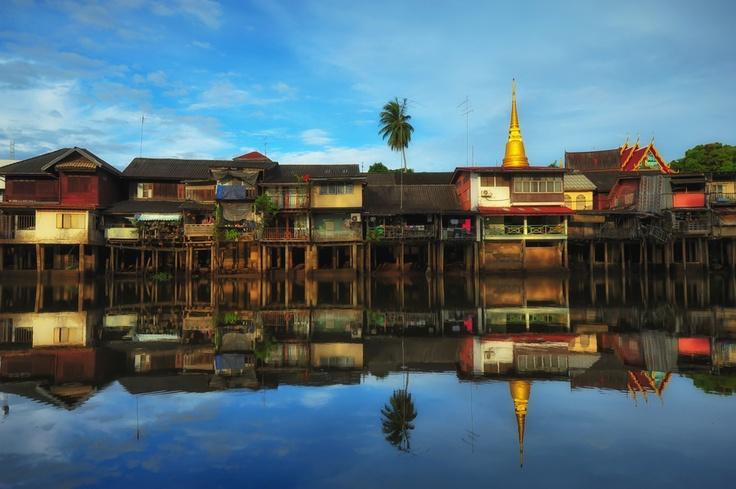 Oldtown in Thailand