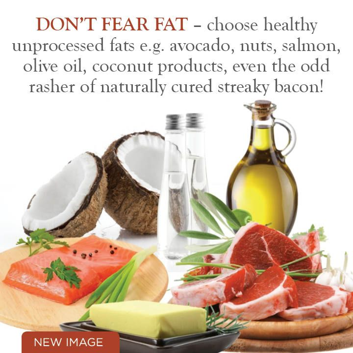 Don't Fear Fat!