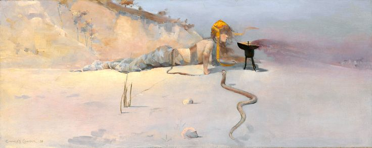 Charles CONDER / Hot Wind. Dimensions: w750 x h294 cm