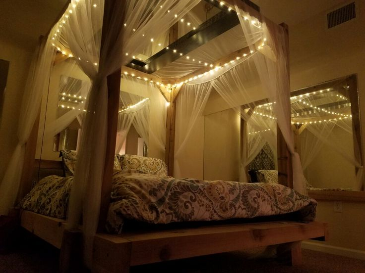 Installation of full length overhead mirror  mesh canopy  and Norris LED  copper wire lighting17 best mirror images on Pinterest   Full length mirrors  Big  . Install Mirror Bedroom Ceiling. Home Design Ideas