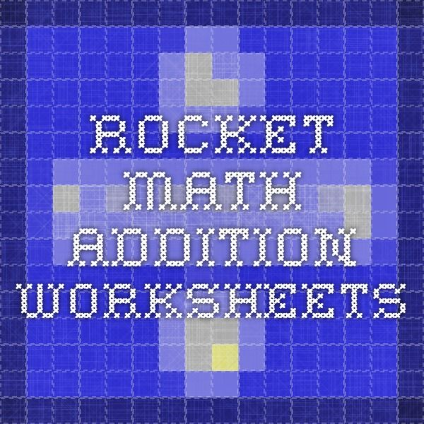 2nd Grade » Rocket Math Worksheets 2nd Grade - Printable ...