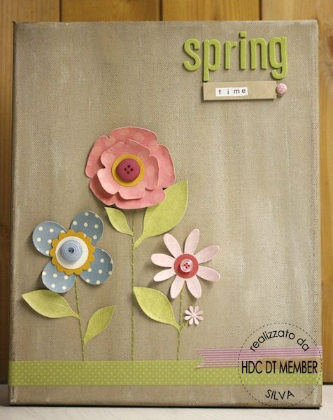Hobby di Carta - Il blog: Ispirazione Primavera, estrazione ispirazione di Febbraio e... nuova possibilità di vincere!