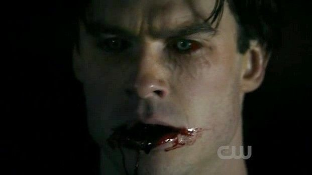 A vamped out Damon.... very hurt and angry. | Vampire ...