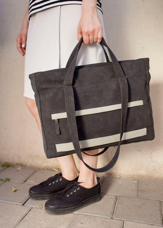 Laptop bag womenVegan handbagwomen by InbalIthachiDesign on Etsy