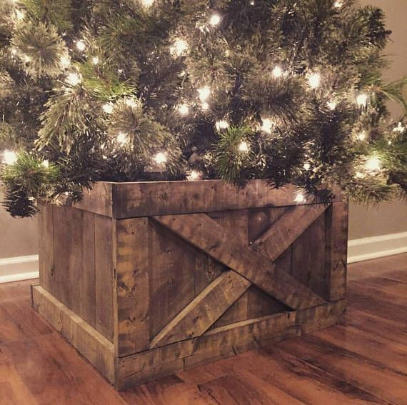 This Item Is Unavailable Etsy Farmhouse Christmas Tree Stands Christmas Tree Box Stand Christmas Tree Box