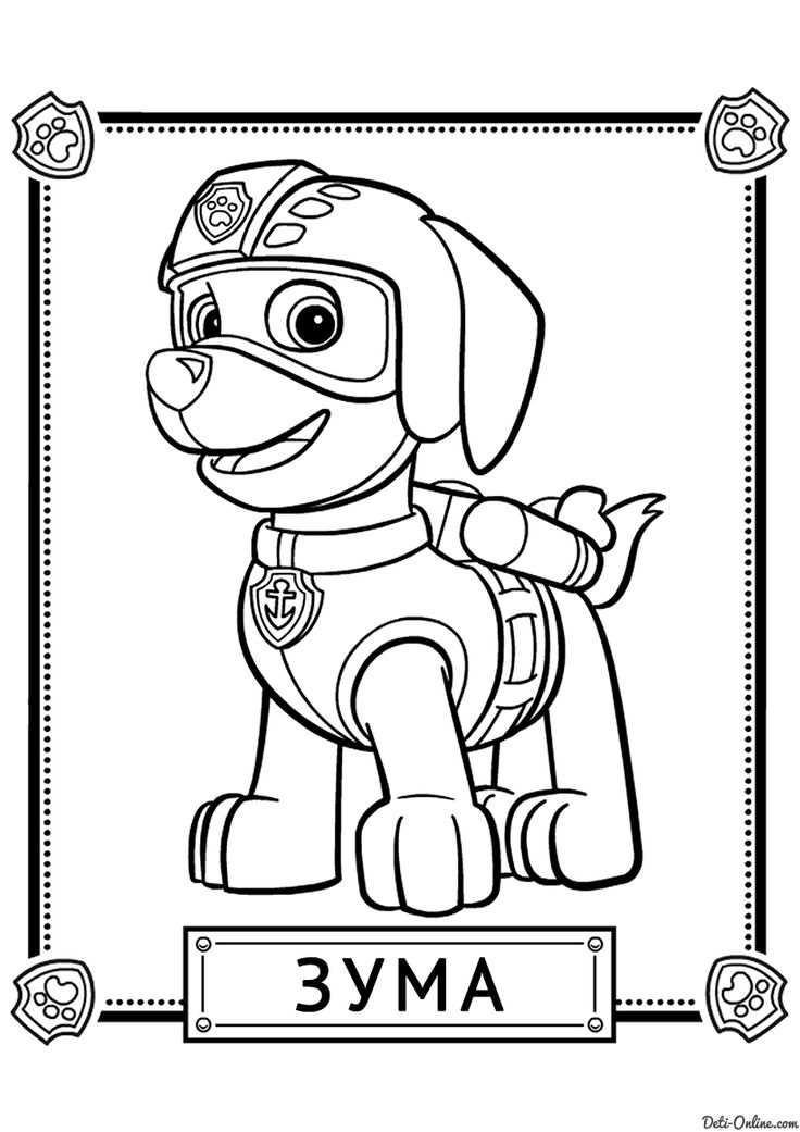 920 best Kids scrapbook images on Pinterest Baby ducks, Birthdays - copy paw patrol coloring pages