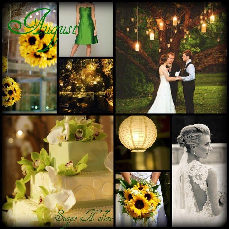 Superior Outdoor August Wedding Ideas!