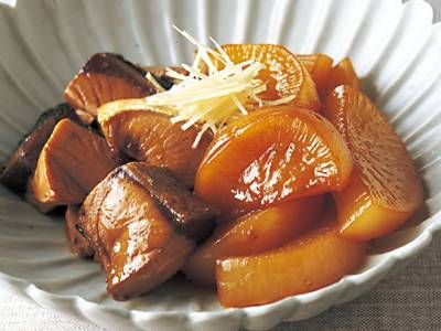 Simmered Yellowtail & Daikon [スピードぶり大根] 料理レシピ|みんなのきょうの料理