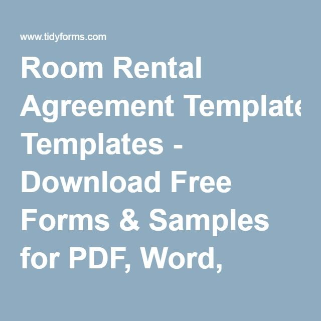 Más de 25 ideas increíbles sobre Room rental agreement en Pinterest - sample roommate rental agreement form