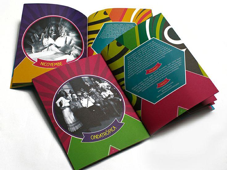 Catálogo / XI Festival Colombia al Parque. Diseño editorial y diagramación: Zambrano. Fotografía: Carlos Lema. Bogotá, 2012.