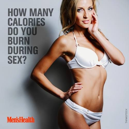 how many calories do you burn while sex