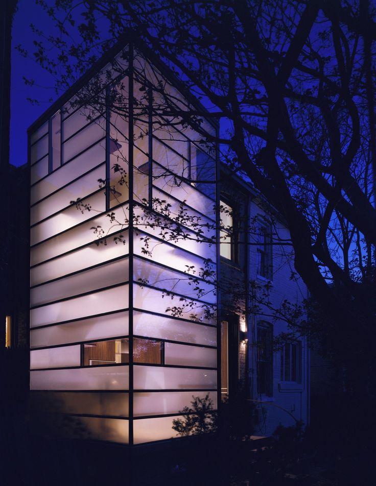 Eastern Market Row House | David Jameson Architect Inc.  +fechto