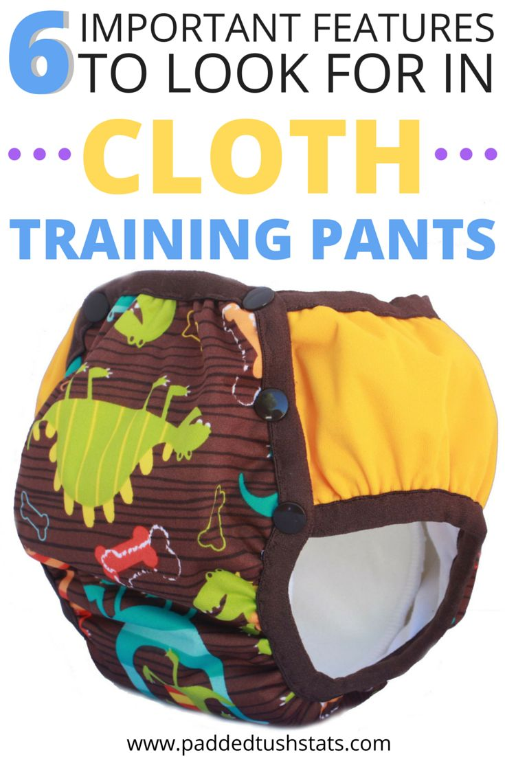 There are so many styles of cloth training pants that it can be hard to decide which would be the best kind to buy! Don't let potty training your toddler be any harder than it needs to be - take some of the effort out of the decision by looking for products that have these 6 features (you'll REALLY appreciate them when your little girl or boy is transitioning out of diapers but isn't QUITE ready for underwear yet!).