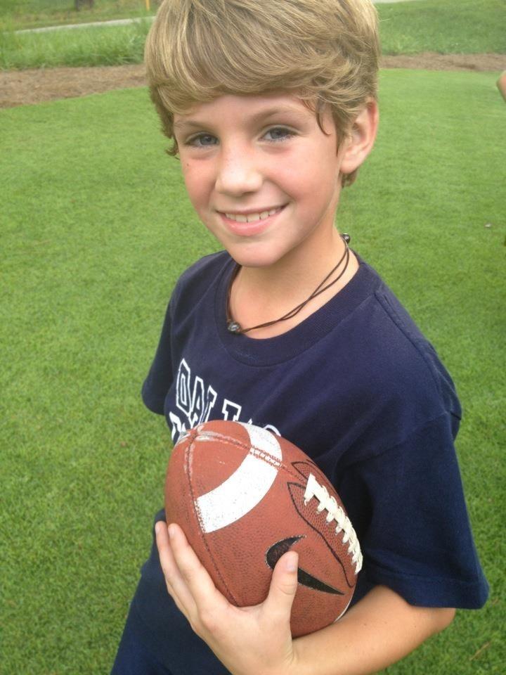 Mattyb playing football