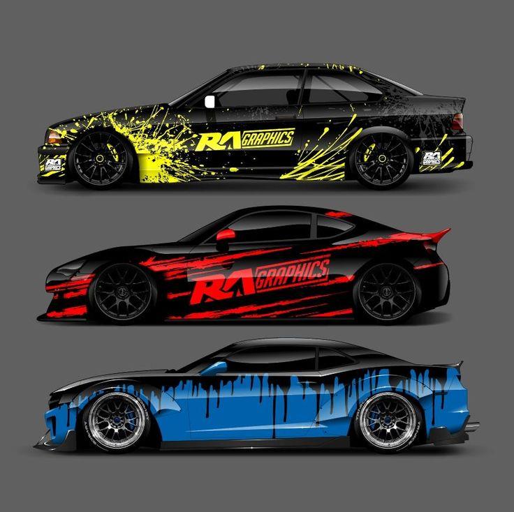RA Splash Pack 1 Racing car design, Custom cars paint