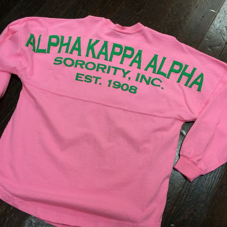 Alpha Kappa Alpha Spirit Jersey   aka   Pinterest   Alpha ...