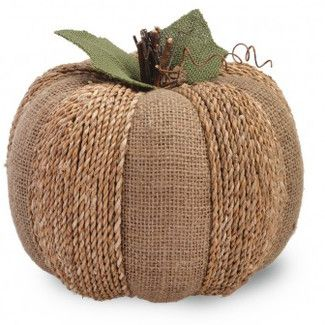 Found it at Wayfair - Boston International Large Burlap Pumpkin Sculpture