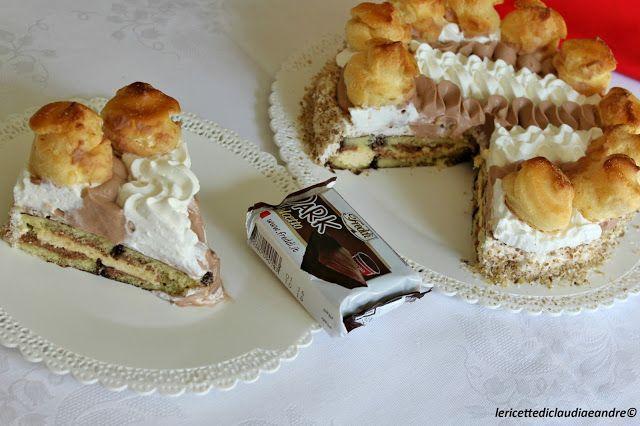 Le ricette di Claudia & Andre : Torta Saint Honorè con Dolcetto Dark