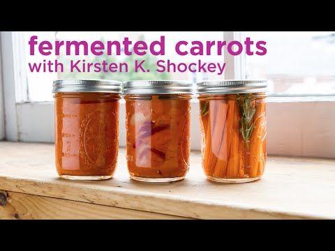 Inside Storey: Kirsten K. Shockey: Fermented Carrots, Three Ways