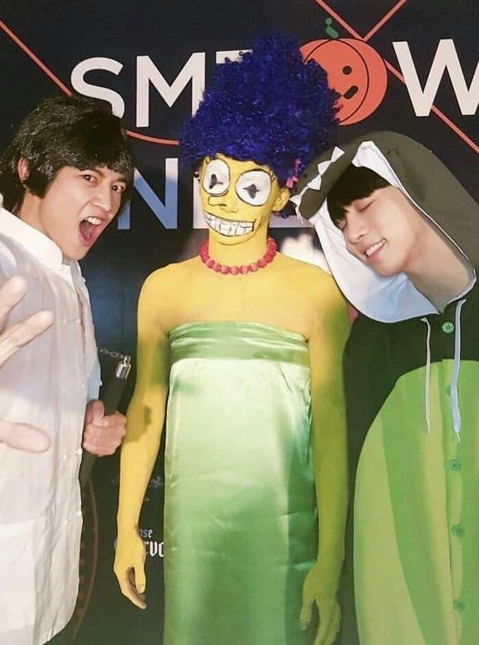 Pin By On Shinee Shinee Jonghyun Celebrity Halloween Costumes