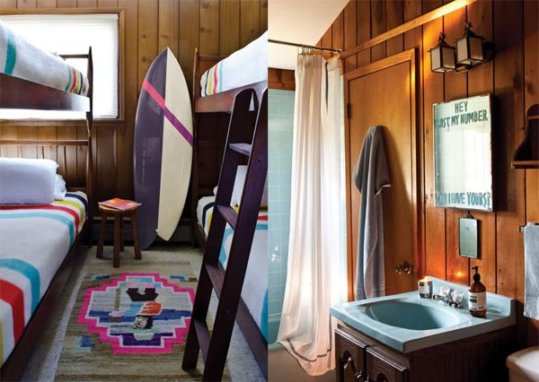 Surf Board!: Formal Dresses, Guest Bedrooms, Cottages Bedrooms, Surfing Boards, Surfing Shack, Dreams Bedrooms Houses, Surfers Rooms, Cottage Bedrooms, Cabins Interiors