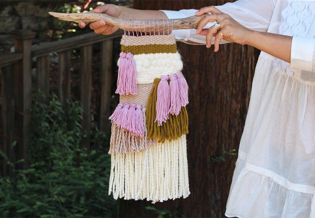 We'vebeen a long time admirers of woven wall hangings and have loved…