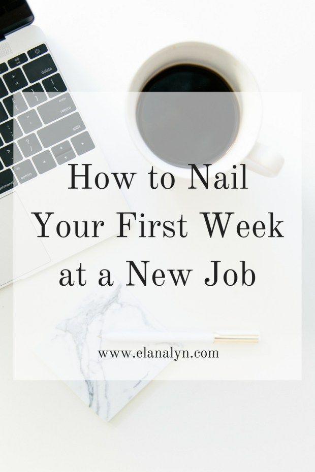 new job tips