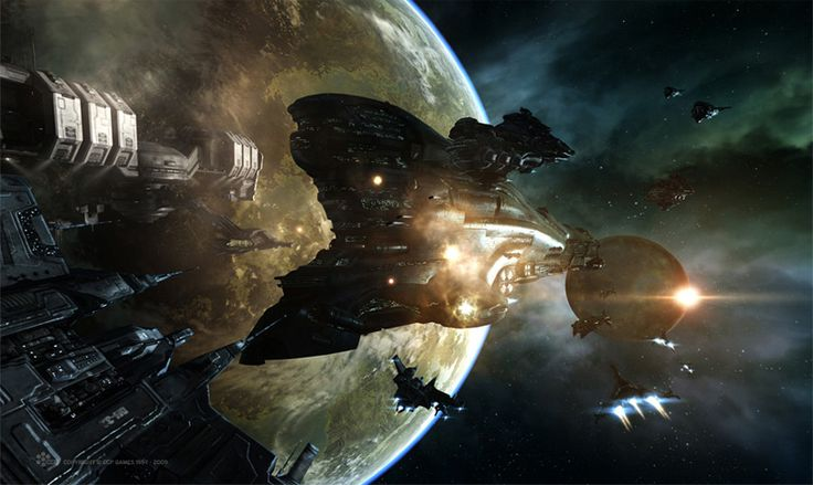 concept ships: Concept ships from EVE ONLINE: DOMINION