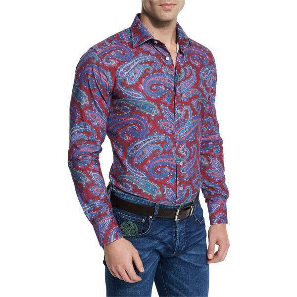 17 Best Ideas About Mens Paisley Shirts On Pinterest