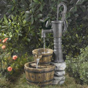 Rústico: Pumps Water, Pumps Fountains, Fashion Water, Outdoor Fountains, Water Fountains, Products, Gardens Fountains, Water Pumps, Fountains Cellars