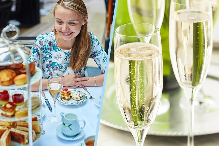 Traditional Seafront Afternoon Tea & Bottle of Prosecco for 2