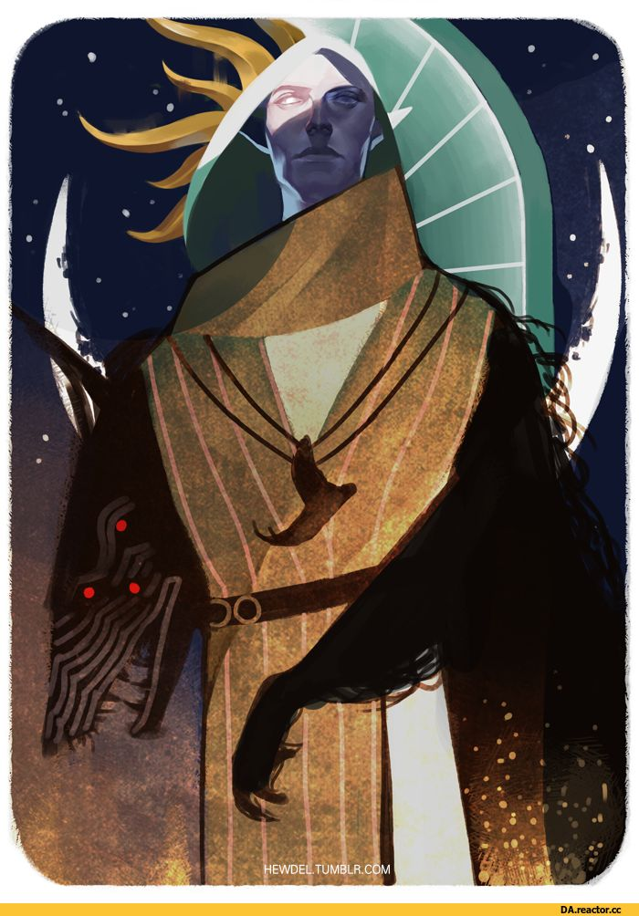 Солас,DA персонажи,Dragon Age,фэндомы,DA таро,DAI