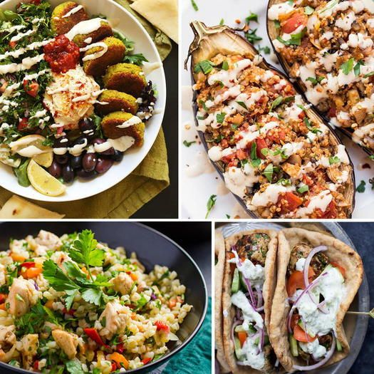 Healthy Mediterranean Entrées Under 300 Calories