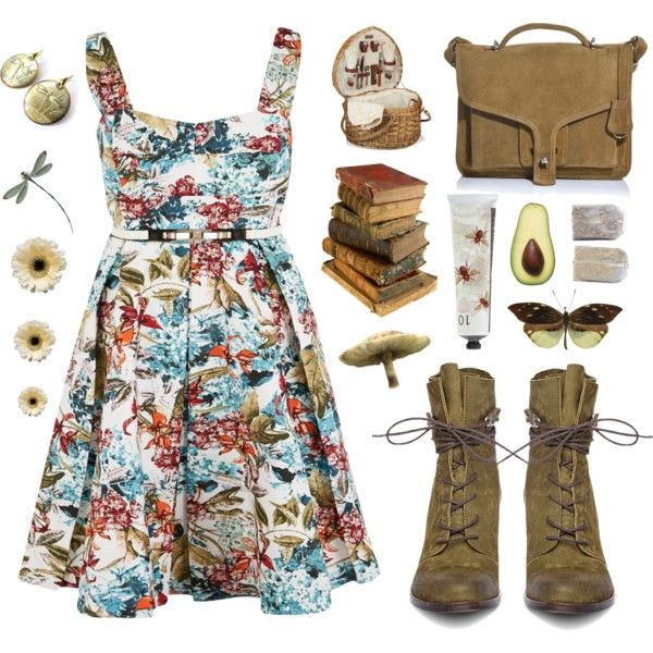 """""""First picnic..."""" by helen-shesterneva on Polyvore"""