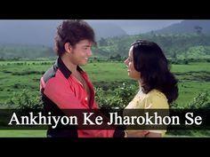 Ankhiyon Ke Jharokhon Se - Classic Romantic Song - Sachin & Ranjeeta - Old Hindi Songs - YouTube