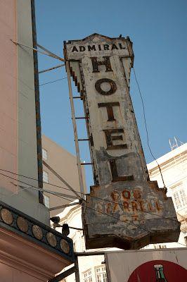 Admiral Hotel Neon Sign