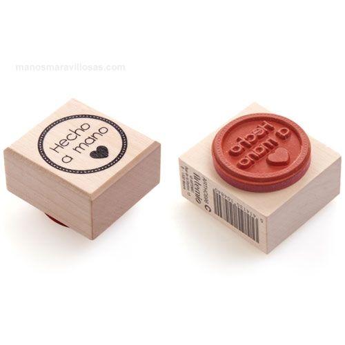 sello hecho a mano                                                                                                                                                      Más