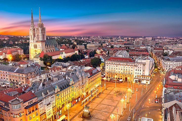 1. Zagreb, Kroatien #zagreb #kroatien #resa #semester