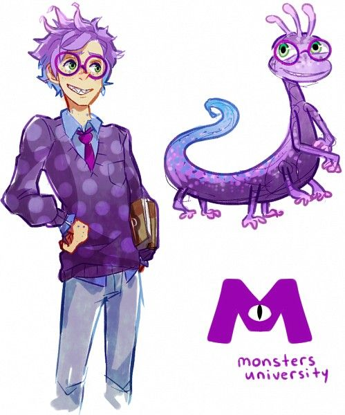 Monsters University - Randall by PhantomMarbles<<<This lil' dork..