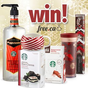 Win a Starbucks Peppermint Prize Pack